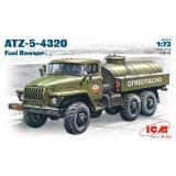 ICM72613  Ural-4320 Soviet Army fuel truck