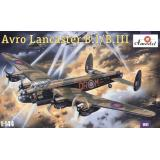 Дальний тяжелый бомбардировщик Avro Lancaster B.I/B.III (AMO1411) Масштаб:  1:144