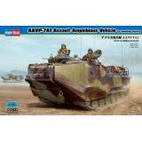 Десантно-гусеничная машина-амфибия морской пехоты США AAVP-7A1 Assault Amphibious Vehicle (w/mountin (HB82413) Масштаб:  1:35