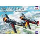 Модели самолетов Як-50 и Як-52 (AMO72179) Масштаб:  1:72