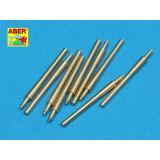 Набор из 9 шт 406 мм стволов для судов: Нельсон, Родни (ABR700-L18) Масштаб:  1:700