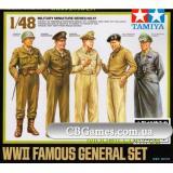 Набор знаменитых генералов Второй Мировой войны (TAM32557) Масштаб:  1:48