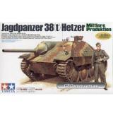 Немецкая самоходная артиллерийская установка Hetzer 38 (t) (середина производства) (TAM35285) Масштаб:  1:35