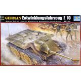 Немецкий эксперементальный танк Е-10 / Tank Е-10 (TR00385) Масштаб:  1:35