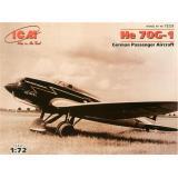 ICM72233  Heinkel He 70G-1 German passenger aircraft