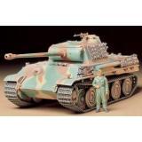 Немецкий танк Panther Type G cо стальными катками (TAM35174) Масштаб:  1:35