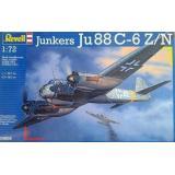 Ночной истребитель Junkers Ju88 C-6 Z/N (RV04856) Масштаб:  1:72