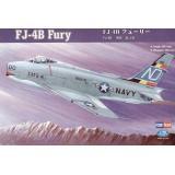 """Палубный истребитель FJ-4B """"Fury"""" (HB80313) Масштаб:  1:48"""