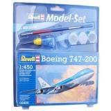 Пассажирский самолет Boeing 747-200 (RV63999) Масштаб:  1:450