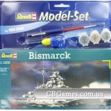 Подарочный набор с кораблем Bismarck (RV65802) Масштаб:  1:1200