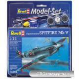 Подарочный набор с самолетом Spitfire Mk V (RV64164) Масштаб:  1:72