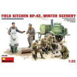 MA35098  Field kitchen KP-42. Winter scenery