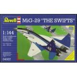 Самолет МИГ-29 (RV04007) Масштаб:  1:144
