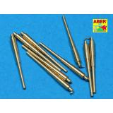 Set of 9 pcs 406 mm long barrels for ships: North Carolina, Washington (ABR700-L11) Масштаб:  1:700