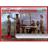 ICM35621  Soviet Military Servicewomen (1939-1942)