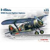ICM72012  I-15bis WWII Soviet fighter