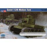 Советский средний танк T-24 (HB82493) Масштаб:  1:35