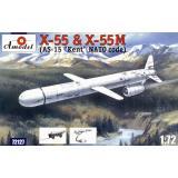 Стратегическая крылатая ракета Х-55 (AMO72127) Масштаб:  1:72