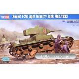 Танк T-26 образца 1933 г. (HB82495) Масштаб:  1:35