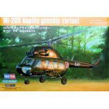 Вертолет Ми-2УС Hoplite, боевой вариант (HB87242) Масштаб:  1:72