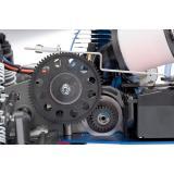 Автомобиль Traxxas Nitro Slash Short Course 1:10 RTR 565 мм 2WD TSM 2,4 ГГц (44056-3 Blue)