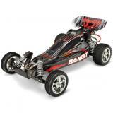 Автомобиль Traxxas Bandit XL-5 Buggy 1:10 RTR 413 мм 2WD 2,4 ГГц (24054-1 Silver)