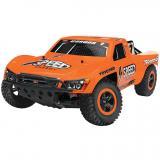 Автомобиль Traxxas Nitro Slash Short Course 1:10 RTR 565 мм 2WD TSM 2,4 ГГц (44056-3 Orange)
