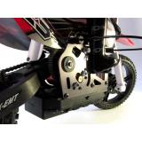 Мотоцикл 1:4 Himoto Burstout MX400 Brushed (красный) (MX400r)