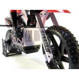 Мотоцикл 1:4 Himoto Burstout MX400 Brushed (зеленый) (MX400g)