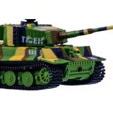 Танк микро р/у 1:72 Tiger со звуком (хаки зеленый) (GWT2117-1)