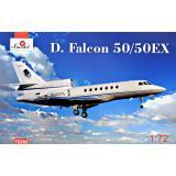 Самолет Dassault Falcon 50/50EX 1:72