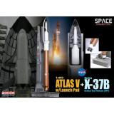 Орбитальный самолет X-37B (OTV) и ракета-носитель