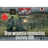Немецкая пехота с тяжелым вооружением, 1939 г. 1:72