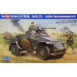 Немецкий бронеавтомобиль Le.Pz.Sp.Wg (Sd.Kfz.221) Leichter Panzerspahwagen, ранний 1:35