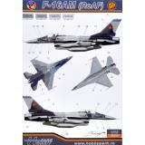 Декаль для самолета F-16AM/BM (RoAF) 1:48