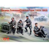 Германский экипаж командной машины (1939-1942 г.) 1:35