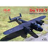 Немецкий ночной истребитель Do 17Z-7, 2 МВ 1:72