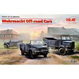 Внедорожные автомобили Вермахта (Kfz.1, Horch 108 Typ 40, L1500A) 1:35