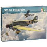 Легкий бомбардировщик Savoia-Marchetti SM.81 Pipistrello