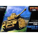 Немецкий средний танк Panzer IV (World War Toons series)