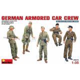 Немецкий экипаж бронеавтомобиля 1:35