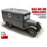 Санитарный автобус ГАЗ-03-30 1:35