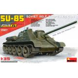 САУ СУ-85 с полным интерьером 1:35