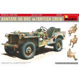 Джип Bantam 40 BRC с британским экипажем (специальное издание)