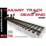 Железнодорожный тупик, европейская колея 1:35