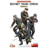 Советский танковый экипаж 1950-е годы 1:35