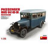 Пассажирский автобус ГАЗ-03-30 1:35