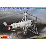 """Разведывательный Автожир Focke Wulf FW C.30A """"Heuschrecke"""" позднего производства"""