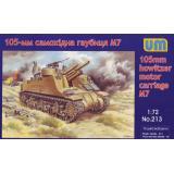 105-мм самоходная гаубица М7 1:72