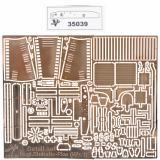 Фототравление: набор деталировки немецкого внедорожника le,gl.Einheits-Pkw ( Kfz,1) 1:35